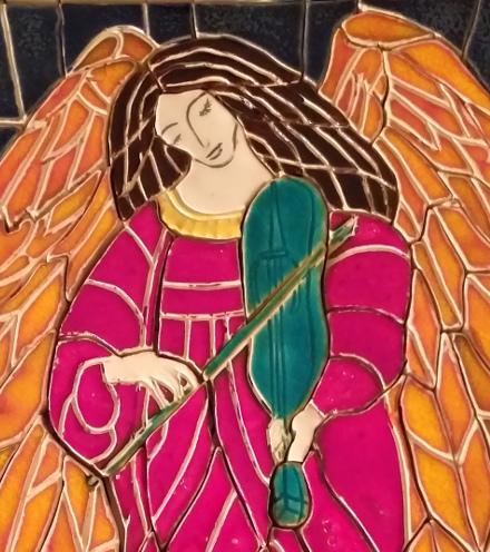 Anioł w Liliach
